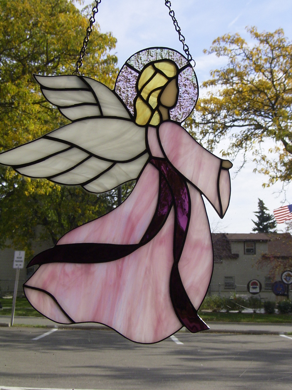 Stallings Stained Glass - Angels