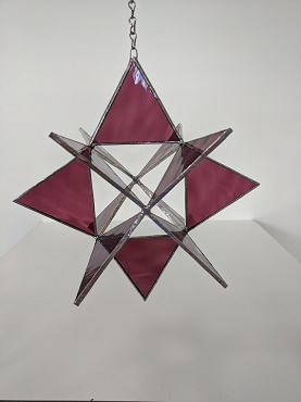 3-D Stained Glass Star