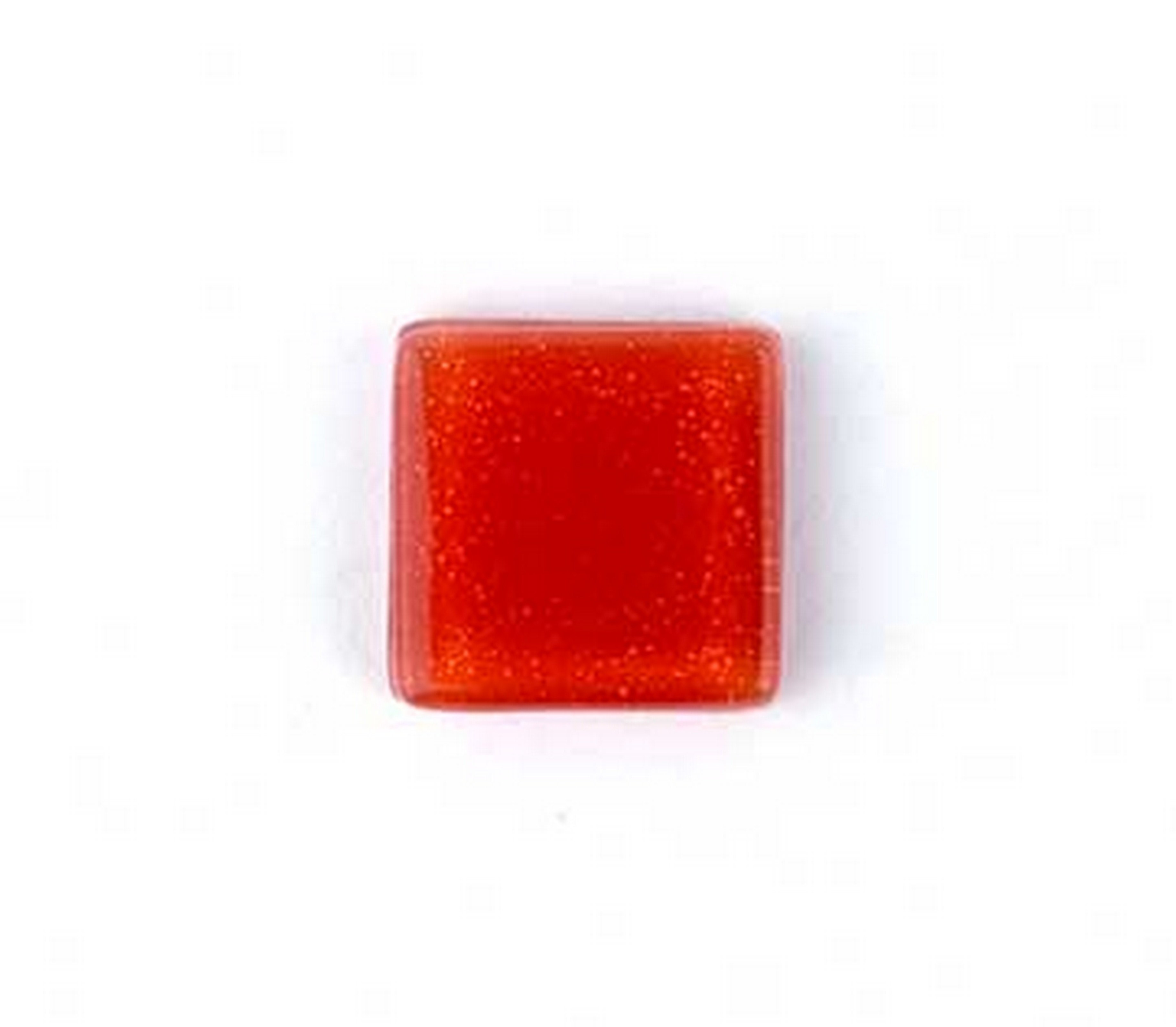 (1161005) MOSAIC SQUARE 20X20MM RED (10PK)