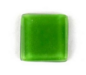 (1161011) MOSAIC SQUARE 30X30MM GREEN (10PK)