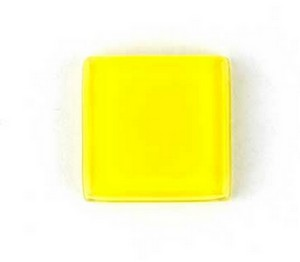 (1161013) MOSAIC SQUARE 30X30MM YELLOW (10PK)