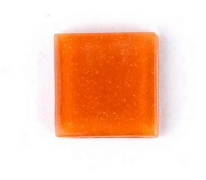 (1161014) MOSAIC SQUARE 30X30MM ORANGE (10PK)