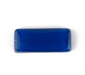 (1161022) MOSAIC RECTANGLES 10X25MM BLUE (10PK)