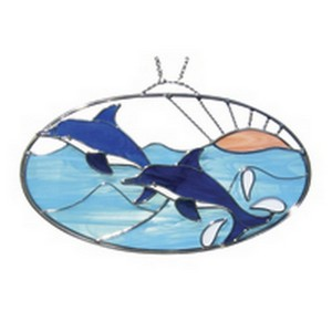 (118431) OVAL KIT-DOLPHINS