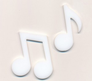 (1189613) WHITE MUSIC NOTE (2)