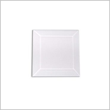(1252) CLEAR BEVEL 4 x 4 SQ