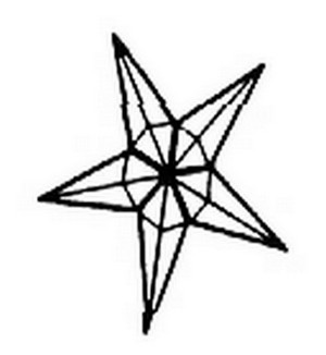 (14091) STAR-LARGE (4mm)