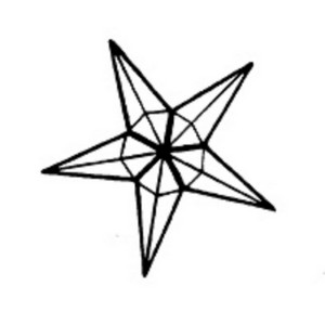 (14093) STAR-SMALL (4mm)