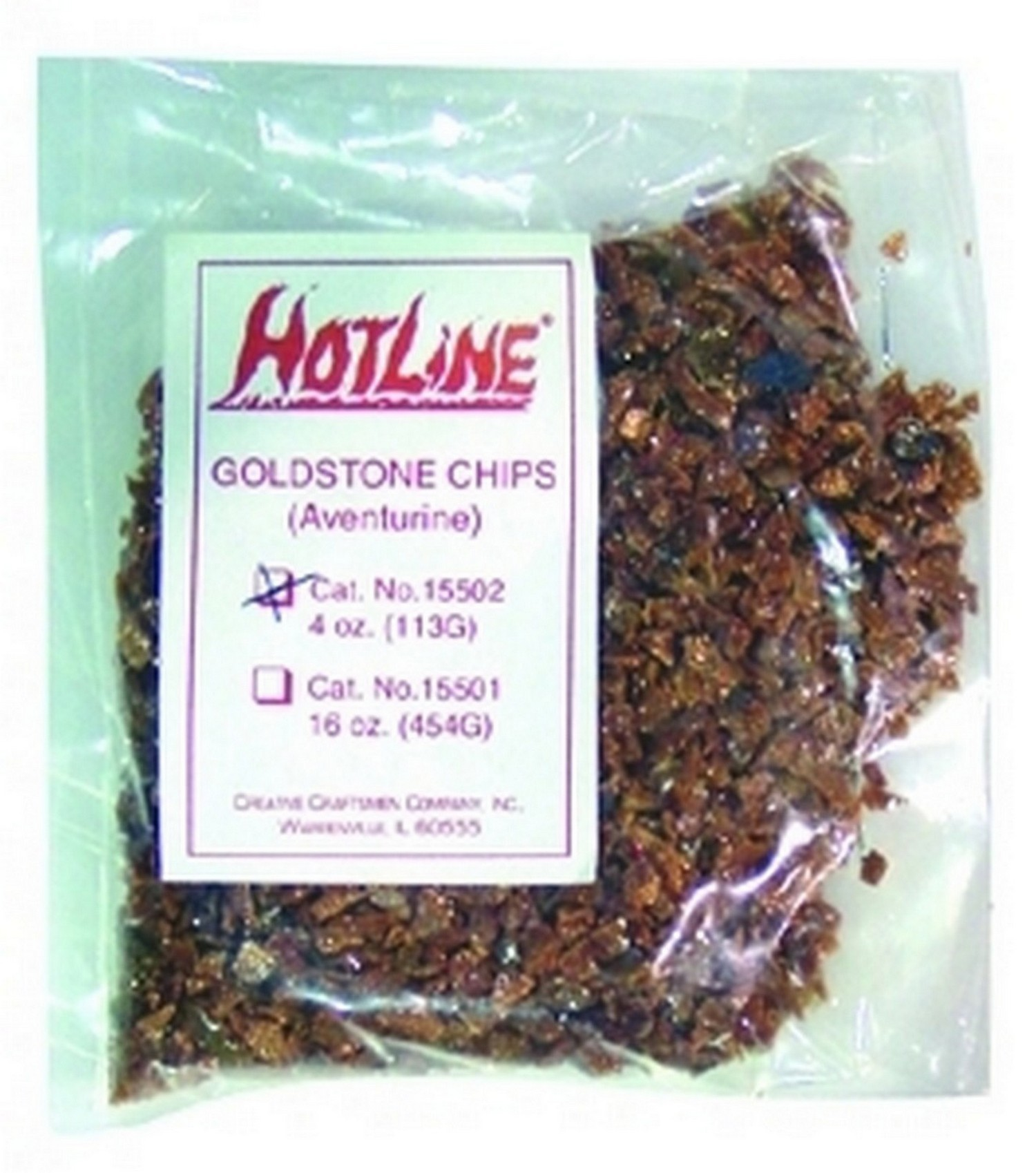 Goldstone Chips-Cullet