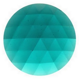 (33016) JEWEL-50mm ROUND-TEAL