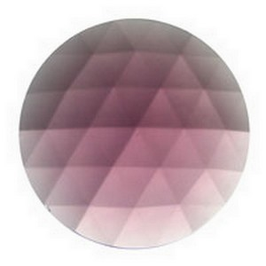 (3304) JEWEL-50mm ROUND-AMETHYST