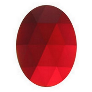 (3310) JEWEL-40x30mm-RED