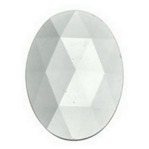 (3316) JEWEL-40x30mm-CRYSTAL
