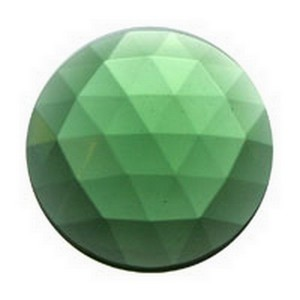 (33612) JEWEL-30mm ROUND-SEA GRN