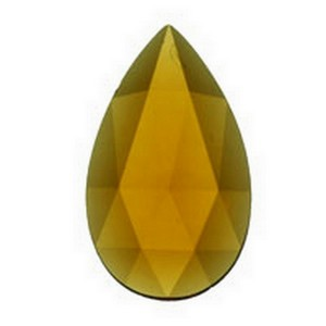 (33810) JEWEL-40x24mm-LIGHT AMBER