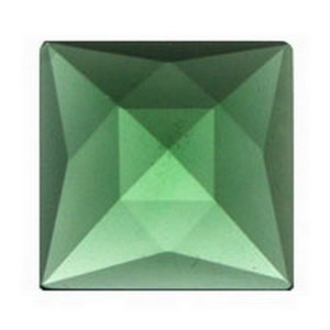 (34112) JEWEL-18mm SQ-SEA GREEN