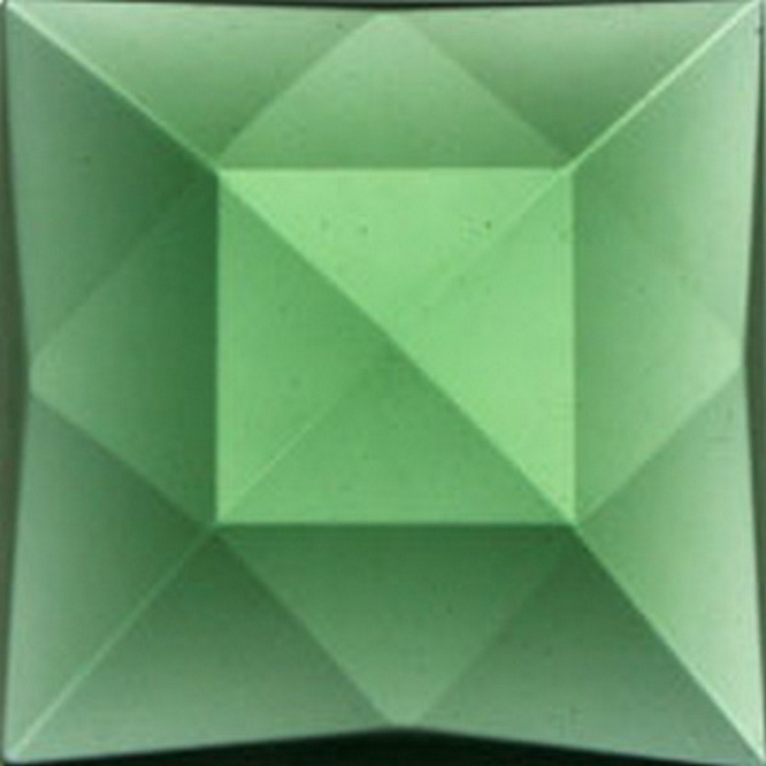 30mm Square Faceted