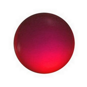 (3440) JEWEL-15mm ROUND-RED