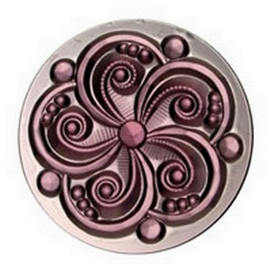 3454 - JEWEL-35mm SWIRL-AMETHYST