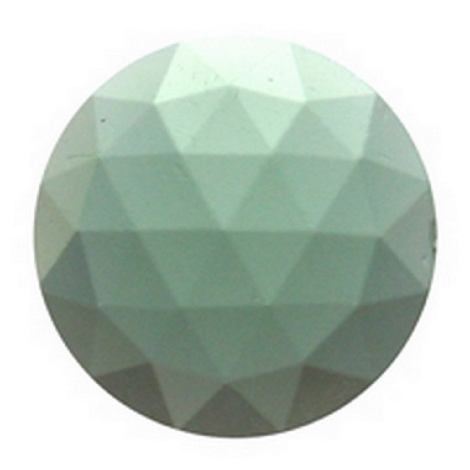15mm Round Faceted