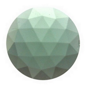(34712) JEWEL-15mm ROUND-SEA GRN