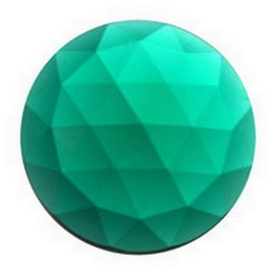(34716) 15mm RND JEWEL-TEAL