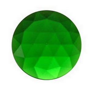 (3473) JEWEL-15mm ROUND-GREEN