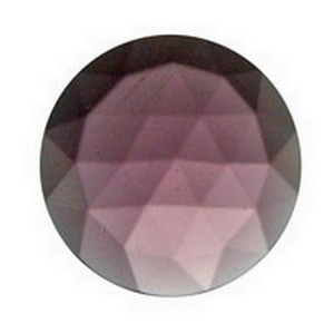 (3474) JEWEL-15mm ROUND-AMETHYST
