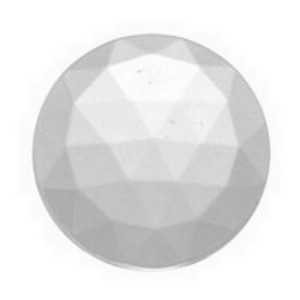 (3476) JEWEL-15mm ROUND-CRYSTAL