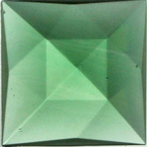 (34912) JEWEL-25mm SQ-SEA GREEN