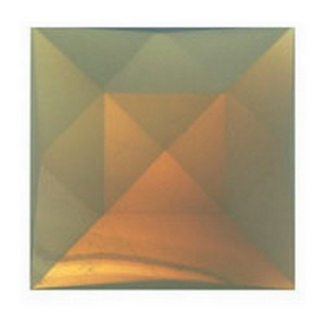 (3495) JEWEL-25mm SQUARE-OPAL