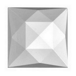 (3496) JEWEL-25mm SQUARE-CRYSTAL
