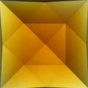 (35010) JEWEL-50mm SQ-LT AMBER