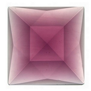 (3504) JEWEL-50mm SQ-AMETHYST