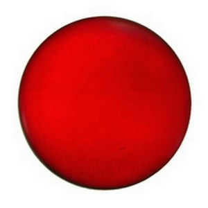 (3520) JEWEL-35mm ROUND-RED