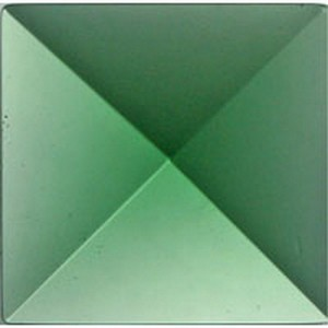 (35412) JEWEL-30mm PYRAMID-GREEN