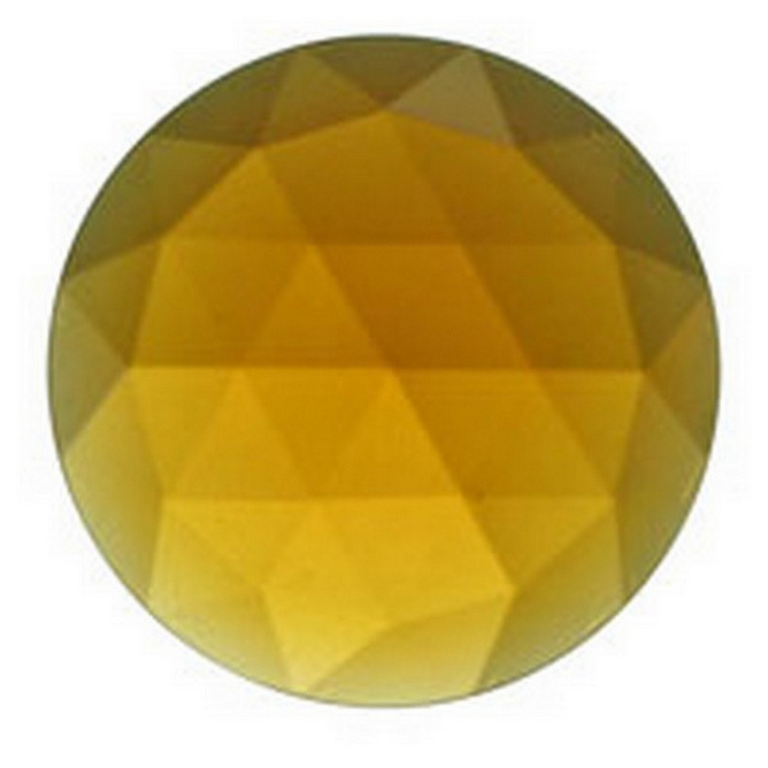 25mm Round Faceted