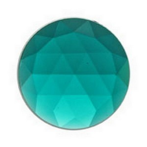 (35616) JEWEL-25mm ROUND-TEAL