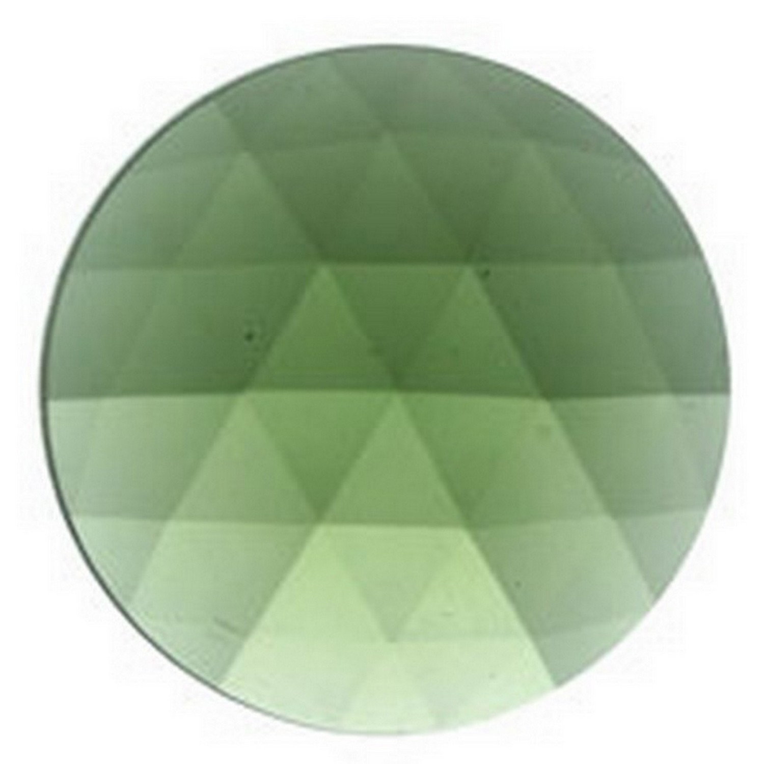 40mm Round Faceted