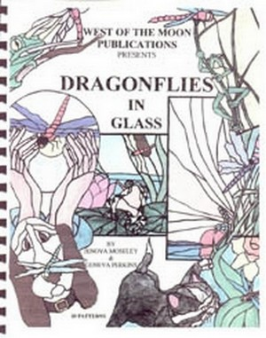 (67039) DRAGONFLIES IN GLASS