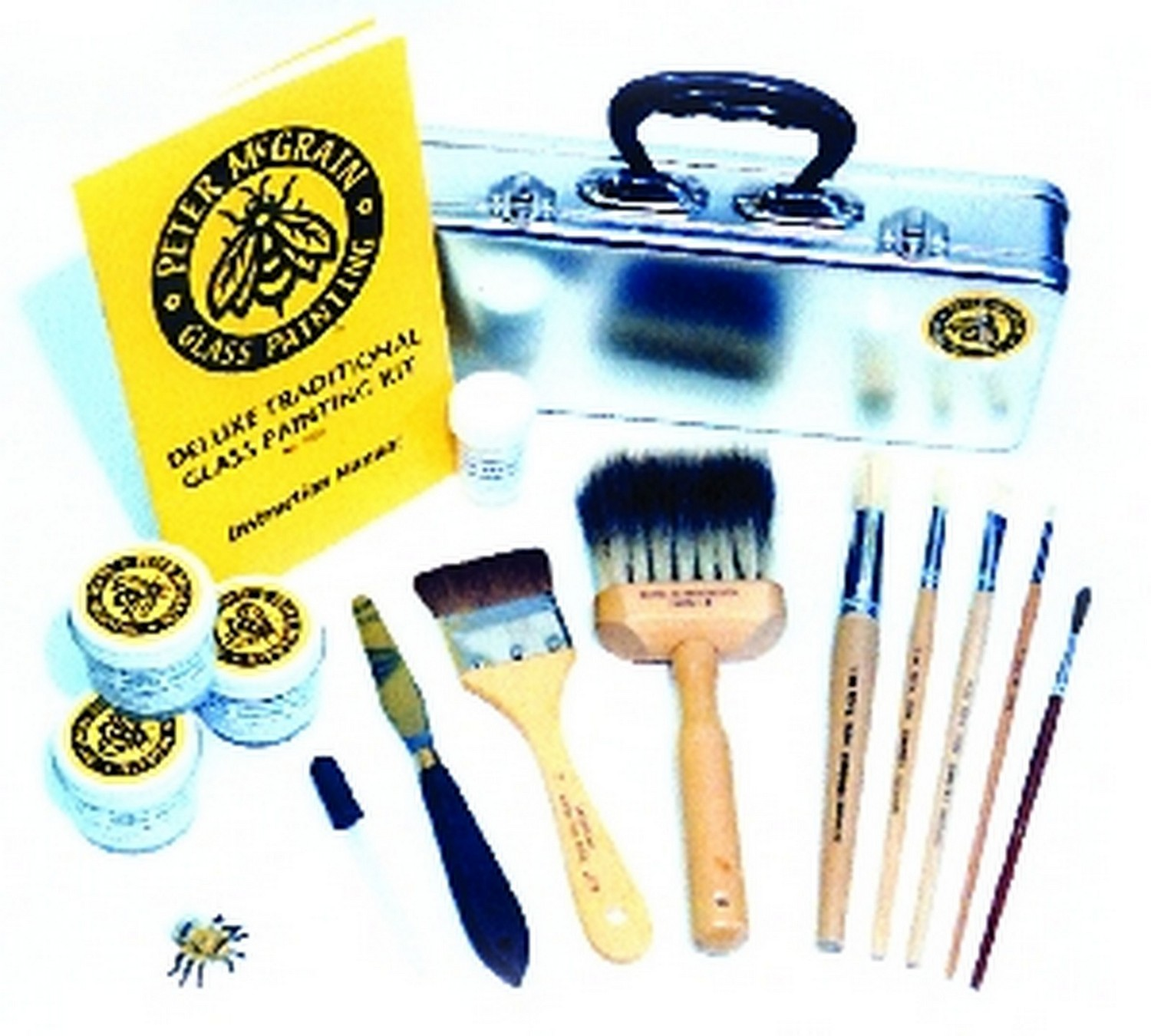 (74019) DELUXE GLASS PAINTING KIT