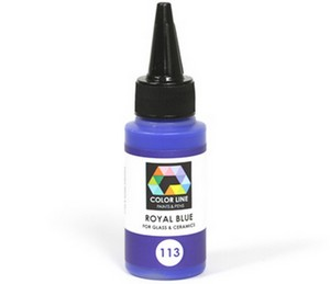 (74141) BULLSEYE COLOR LINE PAINT ROYAL BLUE