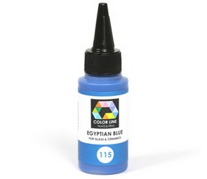 (74143) BULLSEYE COLOR LINE PAINT EGYPTION BLUE