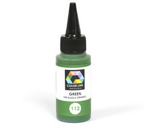 (74144) BULLSEYE COLOR LINE PAINT GREEN