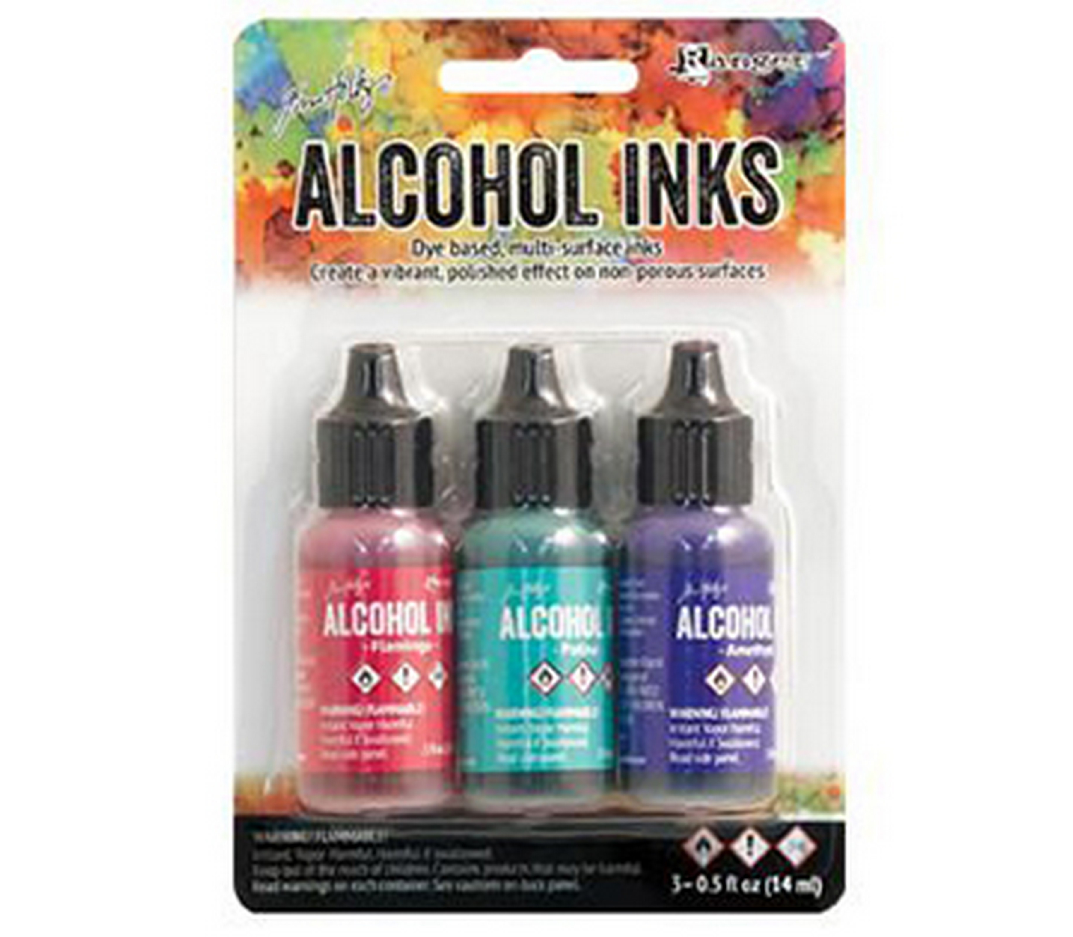 (746KIT2) ALCOHOL INK KIT BEACH DECO (3) - ORMD