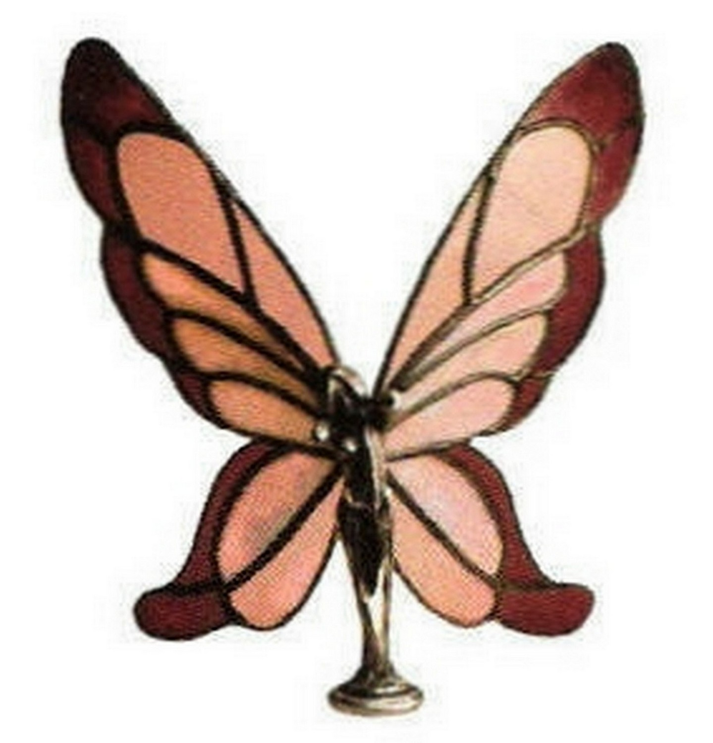 Stained Glass Butterfly Lady Demo
