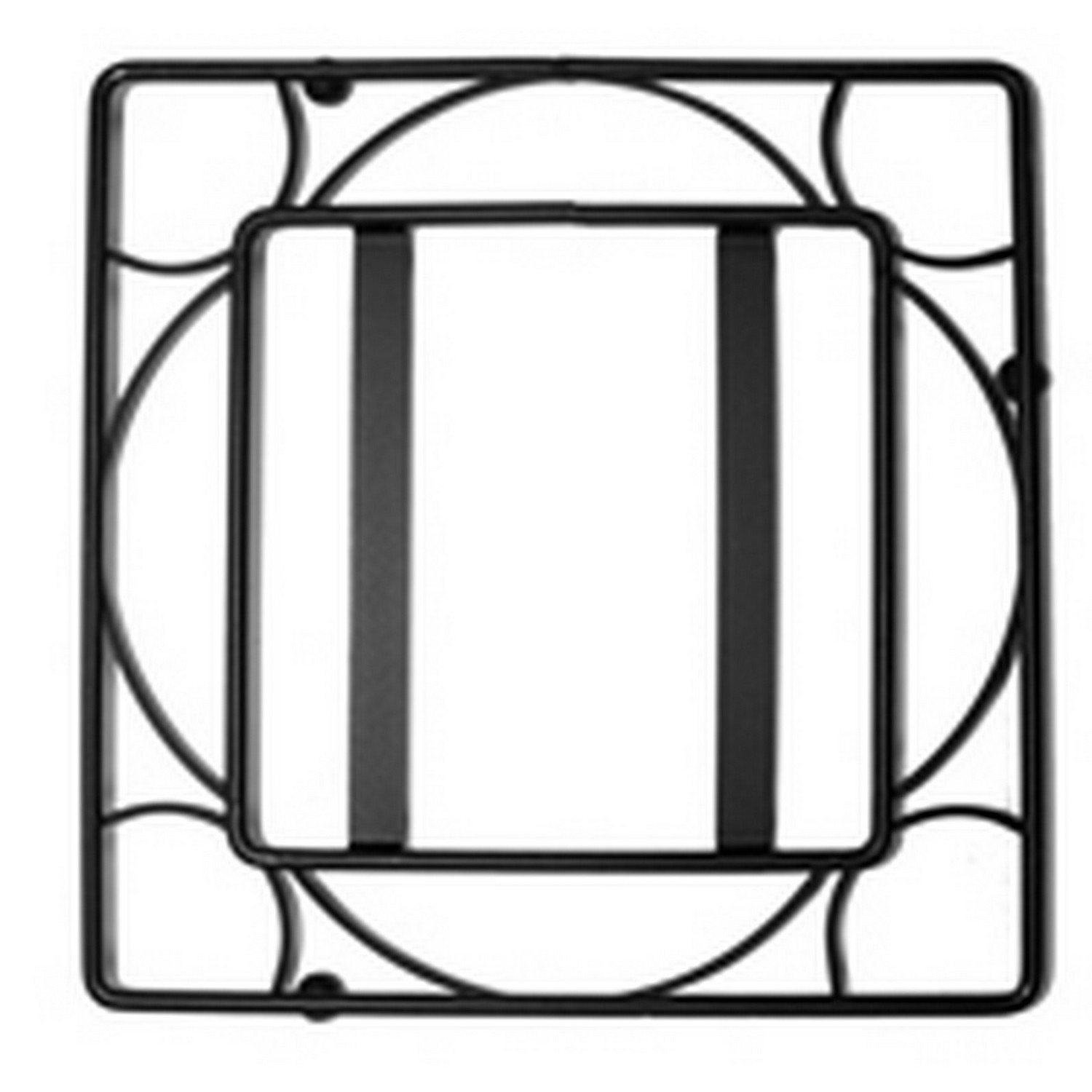 (908808) BLACK IRON TRIVET FRAME