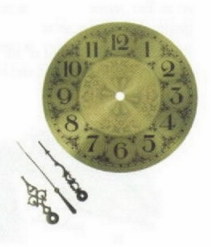 (91445) BRASS CLOCK FACE-5