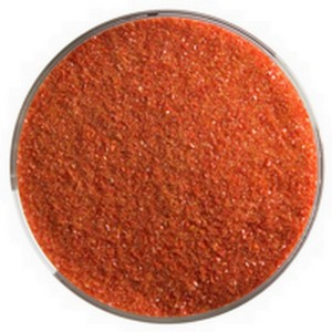 (BE012401) BE FRIT - RED OPAL - FINE - 1LB JAR