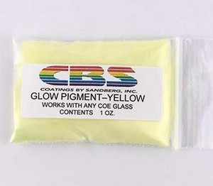 (CBSGPY) GLOW PIGMENT YELLOW 1oz